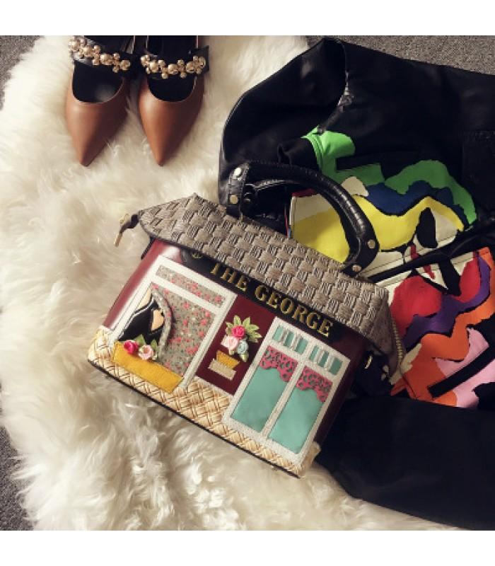 Купить Женская сумка Семейный дом