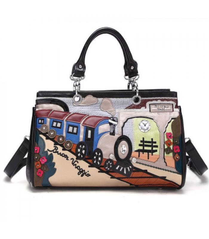 Купить Женская сумка Приходящий поезд