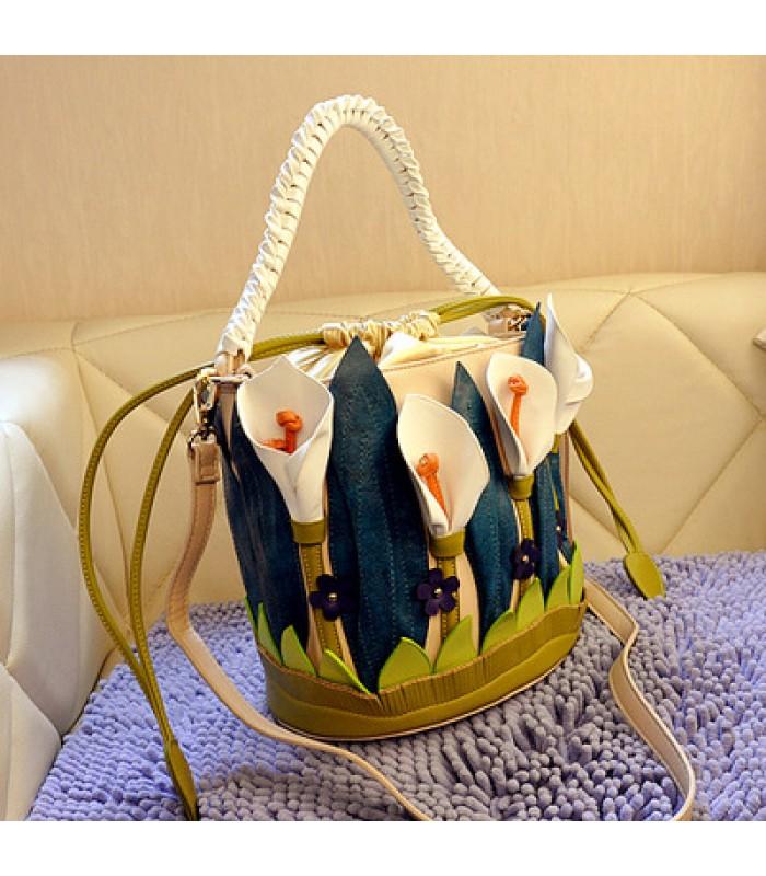 Купить Женская сумка Цветы у озера