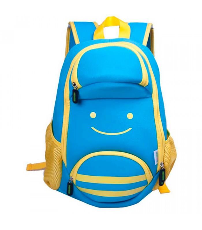 Купить Детский Рюкзак Пчела Голубой