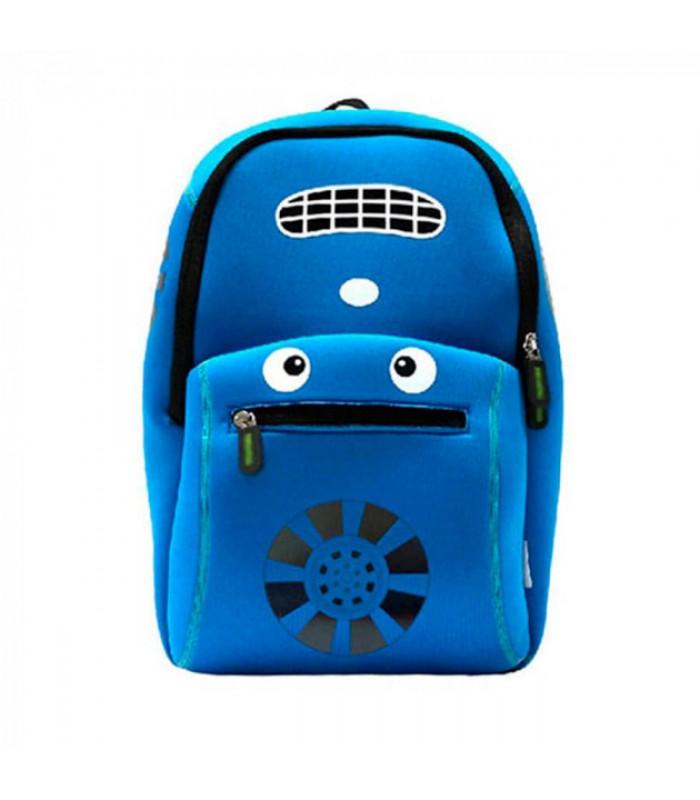 Купить Детский Рюкзак Машина Синий