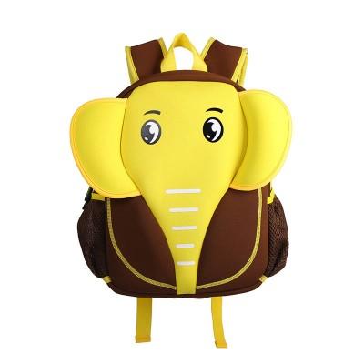 Детский Рюкзак Слон Желтый с коричневым