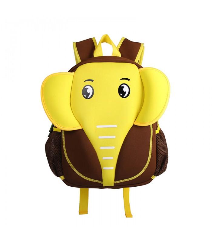 Купить Детский Рюкзак Слон Желтый с коричневым
