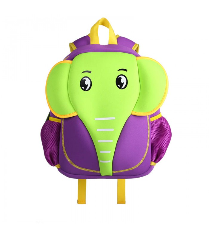 Купить Детский Рюкзак Слон Зелёно-Фиолетовый