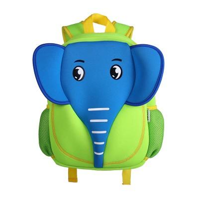 Детский Рюкзак Слон Синий с зеленым