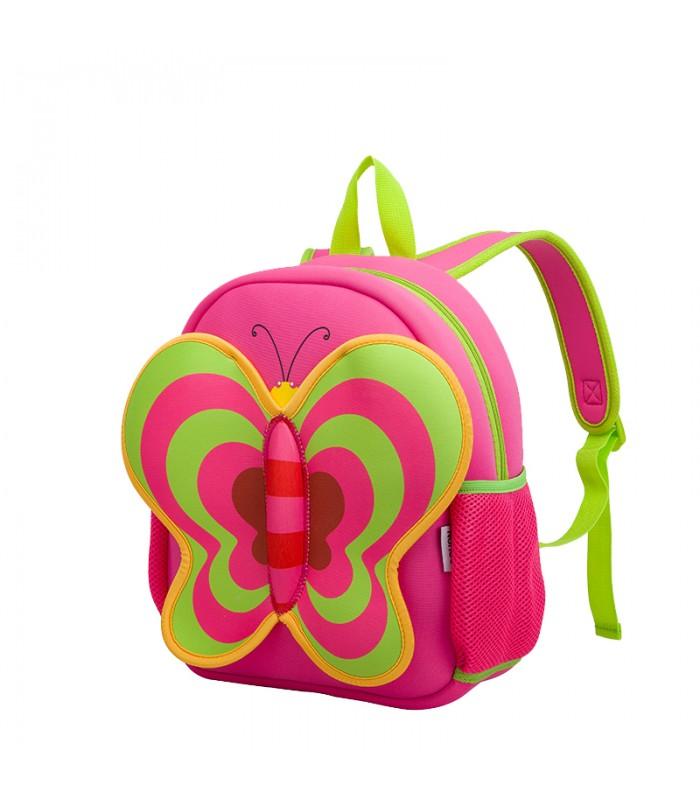 Купить Детский Рюкзак Бабочка Розовый