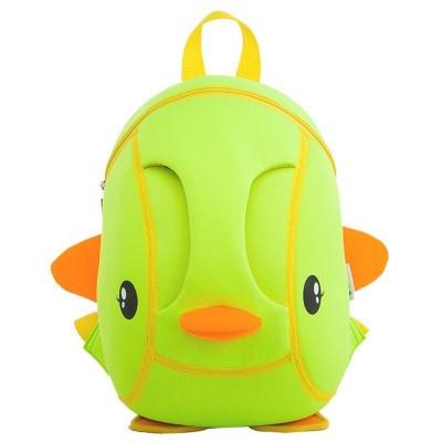 Детский Рюкзак Уточка Зеленый