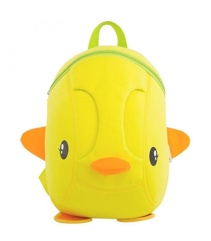 Купить Детский Рюкзак Уточка Желтый