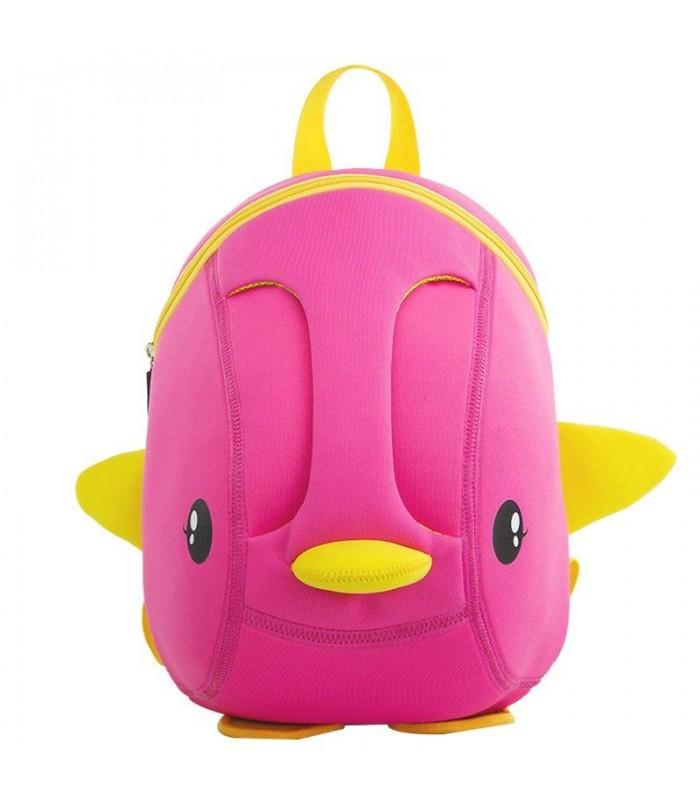 Купить Детский Рюкзак Уточка Розовый
