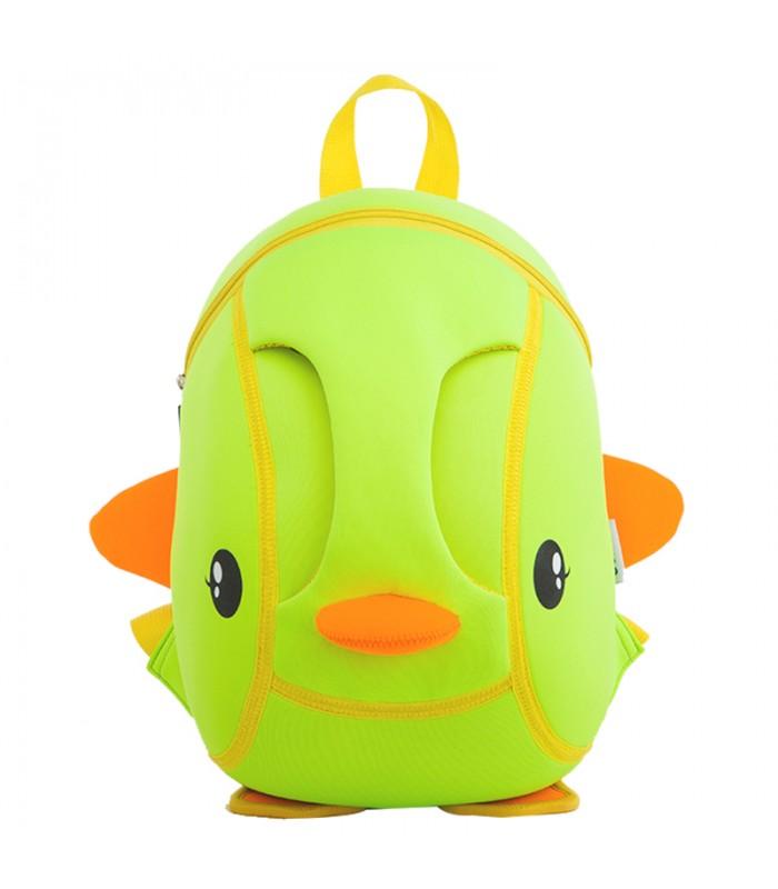 Купить Детский Рюкзак Уточка Зеленый