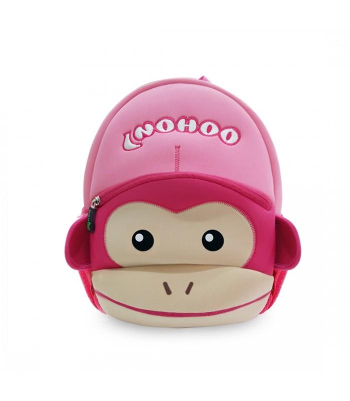 Купить Детский Рюкзак Обезьяна Розовый
