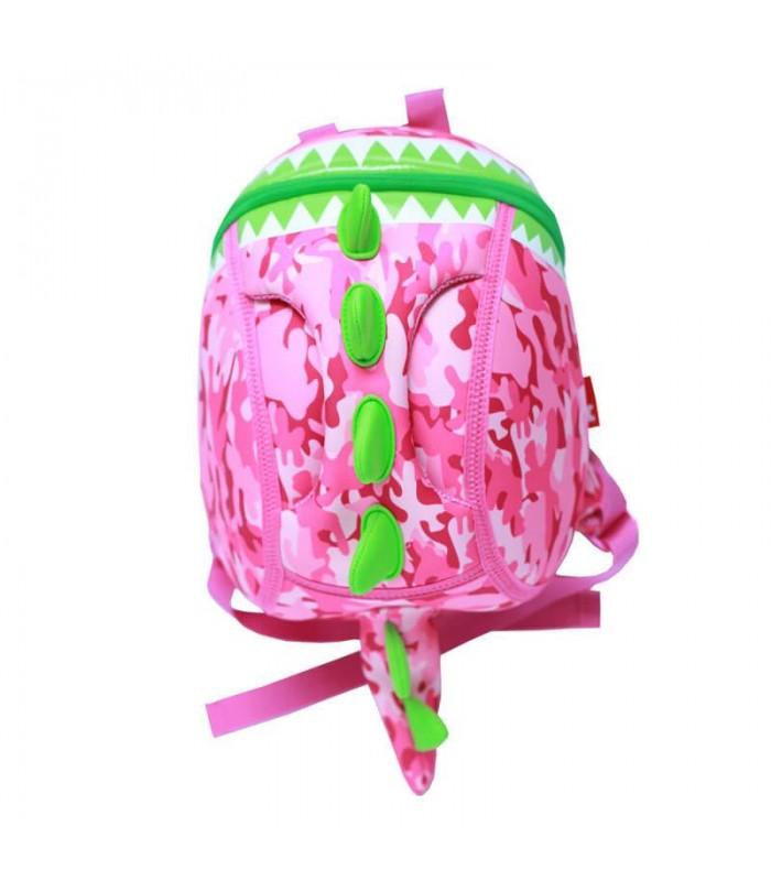 Купить Детский Рюкзак - Тираннозавр S Розовый