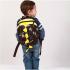 Детский Рюкзак - Тираннозавр S Черный - фото 2