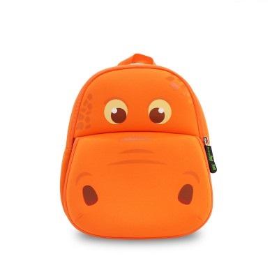 Детский Рюкзак - Бегемотик Оранжевый