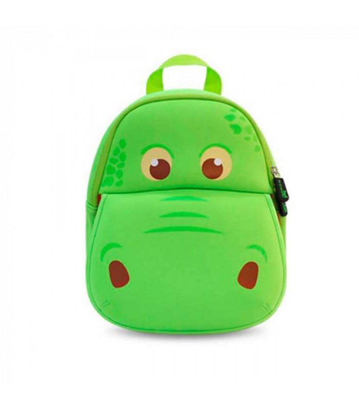 Купить Детский Рюкзак - Бегемотик Зеленый