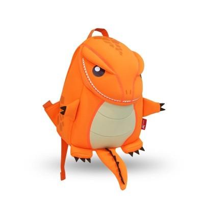 Детский Рюкзак Большой Динозавр Оранжевый