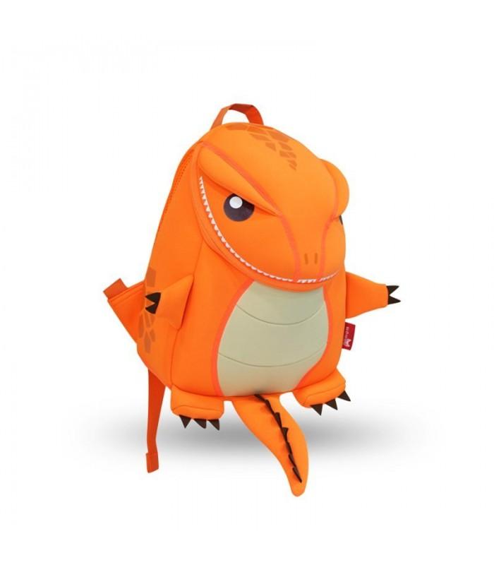 Купить Детский Рюкзак Большой Динозавр Оранжевый