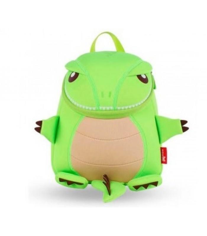 Купить Детский Рюкзак Маленький Динозавр Зеленый