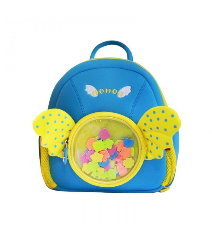Купить Детский Рюкзак Ангелочек Голубой