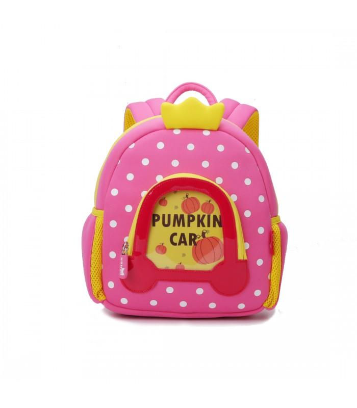 Купить Детский Рюкзак Princess Машина Розовый