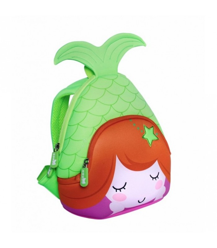 Купить Детский Рюкзак - Nohoo Русалочка Зеленый