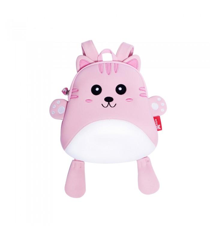 Купить Детский Рюкзак Котик Розовый