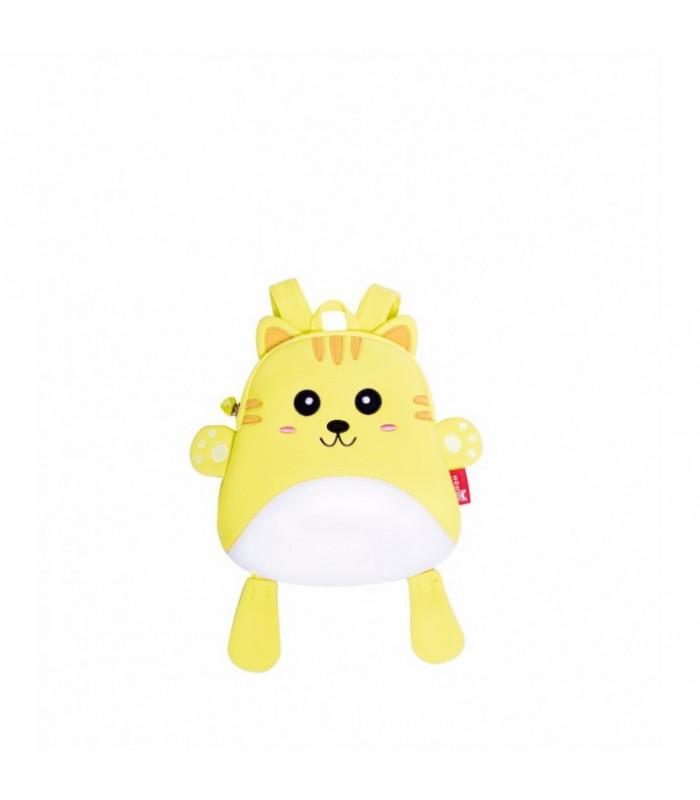 Купить Детский Рюкзак Котик  Желтый