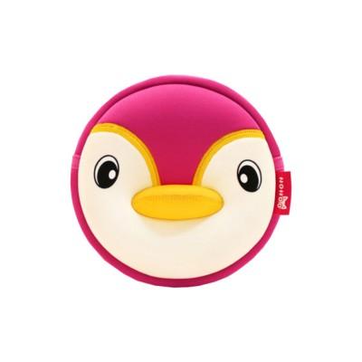 Детская сумочка Пингвин Розовая