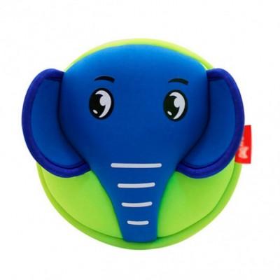 Детская сумочка Слон Синий с зеленым