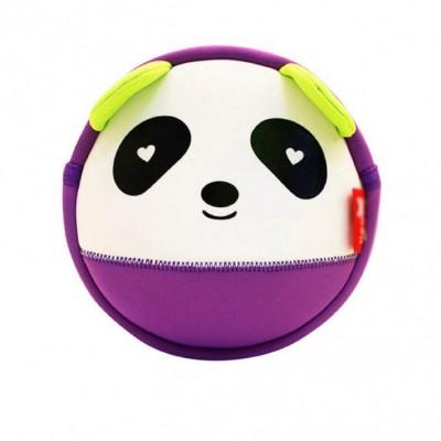 Детская сумочка Панда Фиолетовая