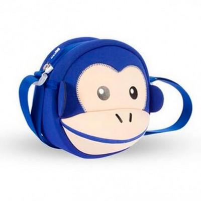 Детская сумочка - Обезьяна Синяя