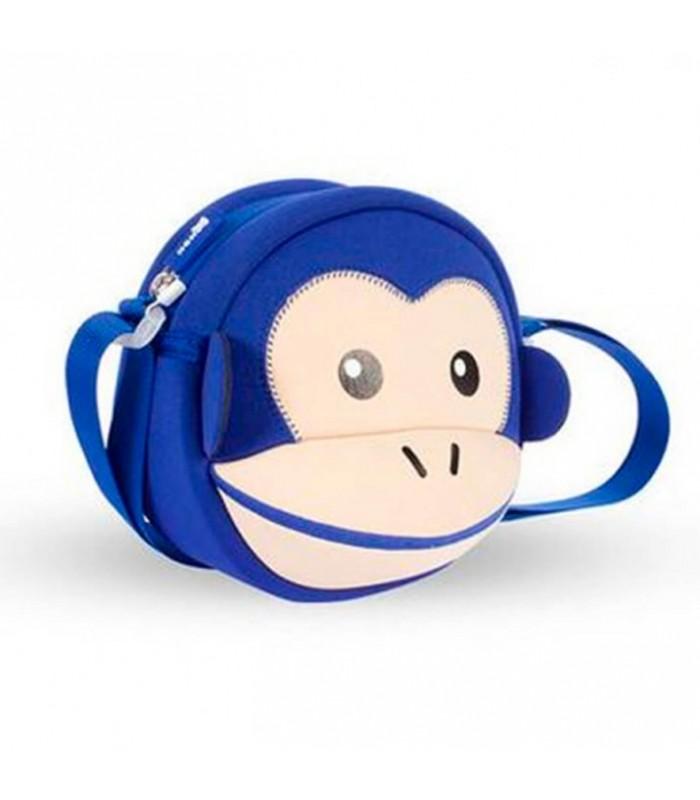 Купить Детская сумочка - Обезьяна Синяя