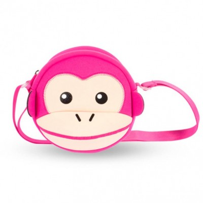 Детская сумочка - Обезьяна Розовая